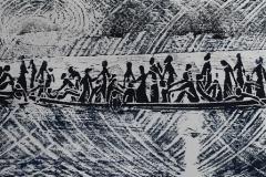 Fluechtlingsboot-Holzschnitt-Unikat-2015