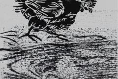 Huhn-3-Holzschnitt-40-x-25-cm-2016