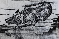 Schaeferhund-2-Holzschnitt-40-x-25-cm-2016