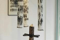 Installation-Wuerde-des-Menschen, Galerie Kirschey, 2020
