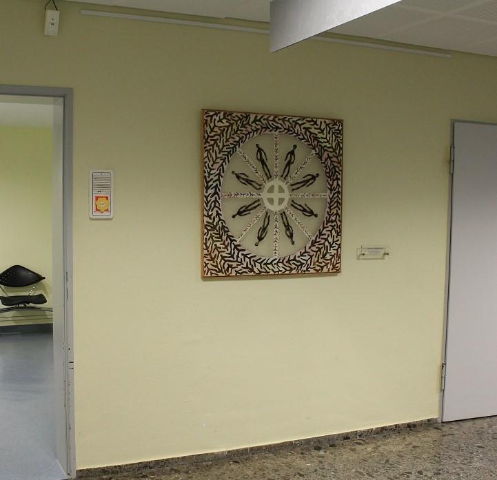 Carmen-Meiswinkel-Menschenrad-Radiologische-Praxis-Hattingen-Schlamm-und-Oel-auf-Leinwand-80-x-80-cm-2003