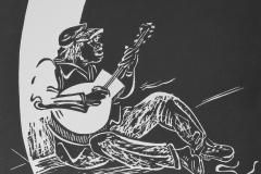 Strassenmusiker-Blues-Linolschnitt-36-x30-cm-2014