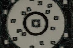 Raum-2-Kreis-Quadrat-Schlamm-Gaze-Oel-80-x-80-cm.